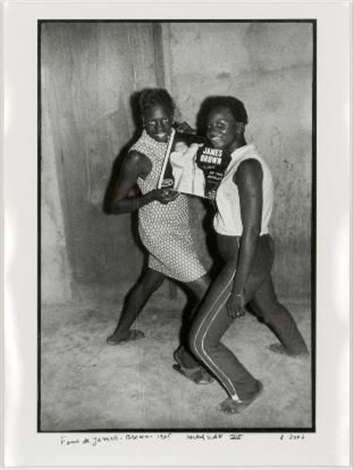 fans of james brown by malick sidibé