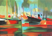 la port de peche by marcel mouly