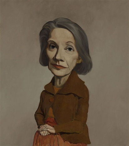 nadine gordimer by john currin