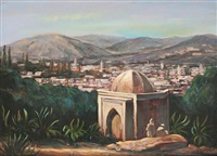 koubba sur les hauteurs de fez by mohamed krich