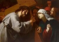 die kreuztragung christi by lionello spada