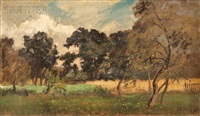 field in early autumn by charles henry miller