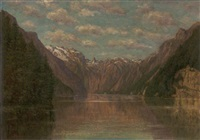 königssee bei berchtesgaden by ludwig fischbeck