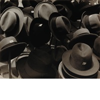 hats in the rastro, madrid june 2 by carl van vechten