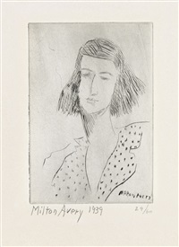 rosalie by milton avery