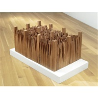 the song of the saint (in 6 parts) by ursula von rydingsvard
