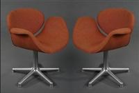 paire de fauteuils modèle 545 dit little tulip (set of 2) by pierre paulin