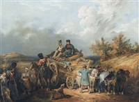 nach der schlacht bei waterloo by nicolas toussaint charlet