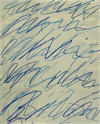 roman notes iii by cy twombly