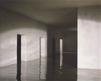 flooded hallway from the right by james casebere