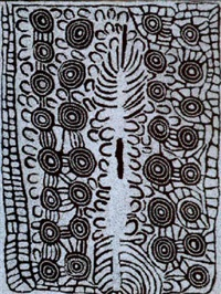 untitled (wirrulnga) by napanangka nancy naninurra