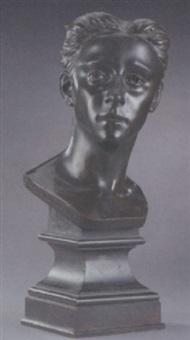 a bust of napoleon iii by bernard guillame eudixe de banes-gardonne