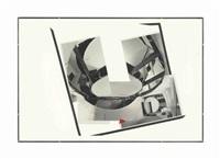 collage for exhibition installation by gordon matta-clark