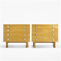 dressers (pair) by j. robert swanson, pipsan swanson saarinen and eliel saarinen