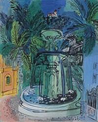 la fontaine à hyères by raoul dufy