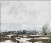 winter traces by george franklin arbuckle