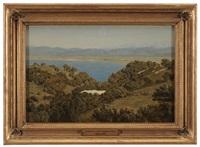 mediterranean landscape by lord frederick leighton