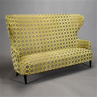 contemporary wingback sofa by tom dixon