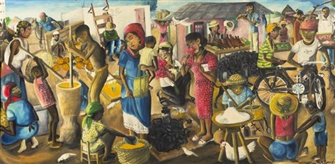 the market by wilson bigaud