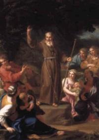 st. john of capistrano preaching by gaetano lapis
