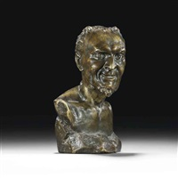 bust of mephistopheles by mark matveevich antokolsky