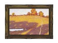 golden autumn by sergei patikovski