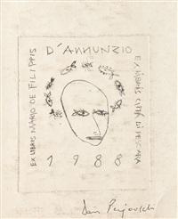 ex-libris by dan perjovschi