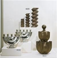 zigzag vases (set of 3) by john van der vaart