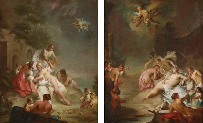 scena mitologica (2 works) by alessandro marchesini