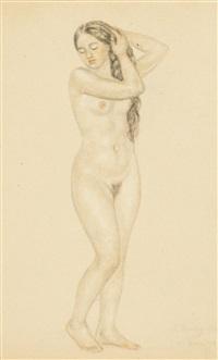 boris-erotic-art-smoking-pantyhose-blonde-sexy