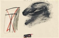 ohne titel (12.8.81) by cy twombly