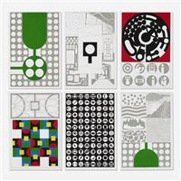 organizational legend portfolio (portfolio of 18) by matt mullican