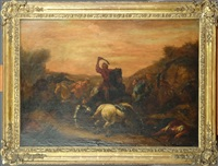 bataille contre les turcs by jan-peter van bredael the younger