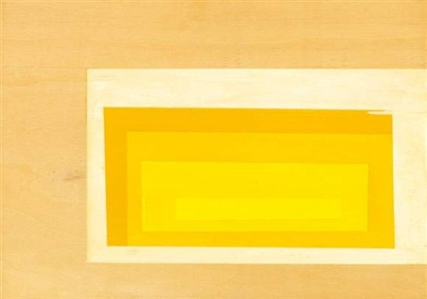 sans titre (from series hommage à albers) by jens wolf