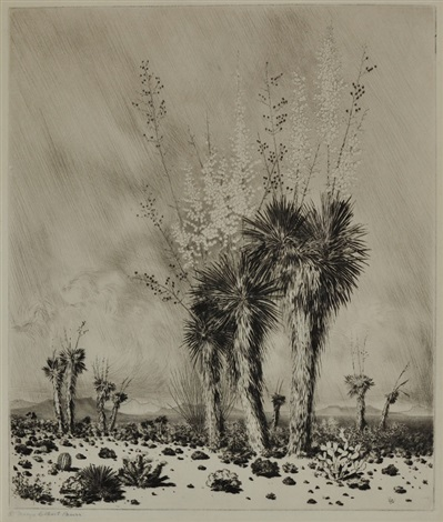 springtime paradise valley arizona by george elbert burr