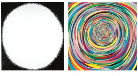 untitled diptych by tom friedman