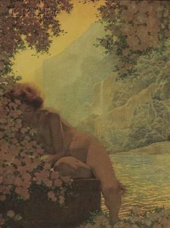 summer by maxfield parrish
