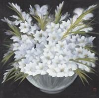 菖兰花图 (orchid) by lin fengmian