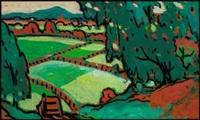 paysage des laurentides by marc-aurèle fortin