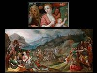 moses führt sein volk aus ägypten nach kanaan by hieronymus francken iii
