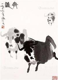 齐进 水墨纸本 by wu zuoren