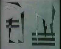 compositie '42 vii by pieter de haard