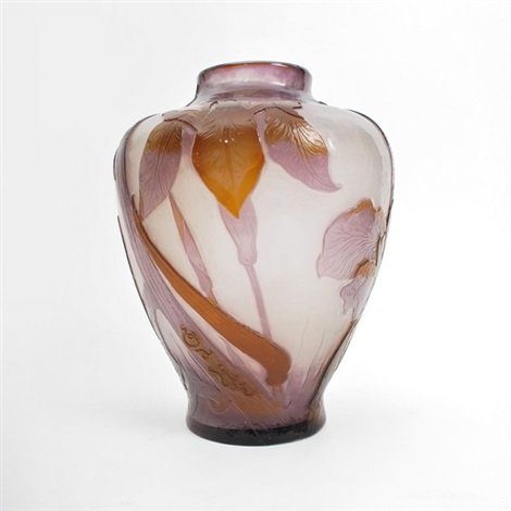 cameo vase by émile gallé