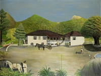 hacienda in mexico by ludwig gerlach