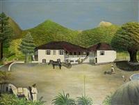 hacienda in mexico by ludwig gerlach
