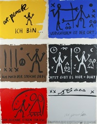 konvolut (6 works) by a.r. penck