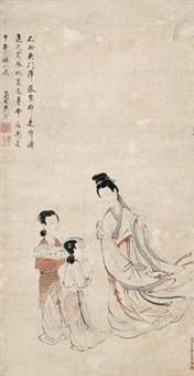 仕女图 by xiao chen