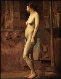 standing nude by william brymner