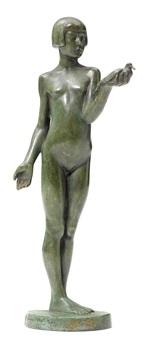 jeune fille à la colombe by henry arnold