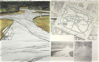 wrapped walk ways, project for st. stephen's green park, dublin by christo and jeanne-claude